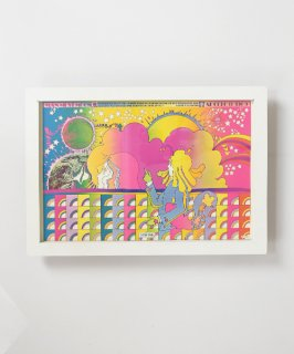 【Vintage Art Poster】Peter Max 『APOLLO NUMBER ONE』#16