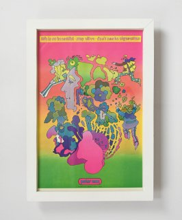 【Vintage Art Poster】Peter Max 『LIFE IS SO BEAUTIFUL』#19