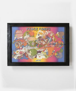 【Vintage Art Poster】Peter Max 『PEACE CORPS』#20