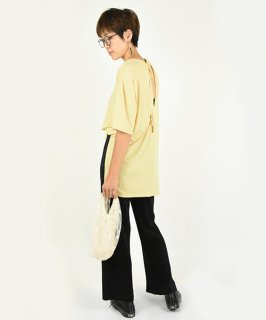 【RAYdy】Soft Touch Back Ribon Tee (3Color)<img class='new_mark_img2' src='https://img.shop-pro.jp/img/new/icons8.gif' style='border:none;display:inline;margin:0px;padding:0px;width:auto;' />