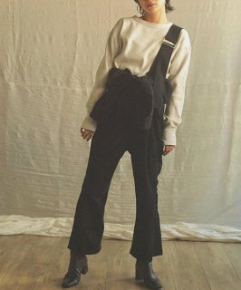 【WoM】<br>Raised Overalls<br>(2Color)