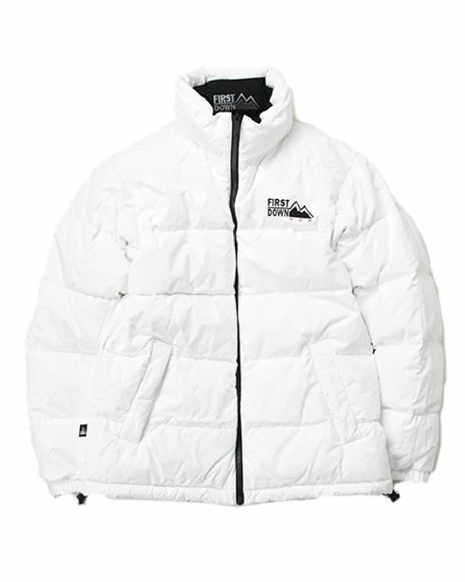 【FIRSTDOWN】<br>REVERSIBLE DOWN JACKET (White×Black)