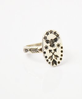 【ERICKA NICOLAS BEGAY】ENB-8 OVAL POINT RING #11