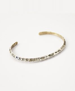 【ERICKA NICOLAS BEGAY】ENB-21 THICK BANGLE type2