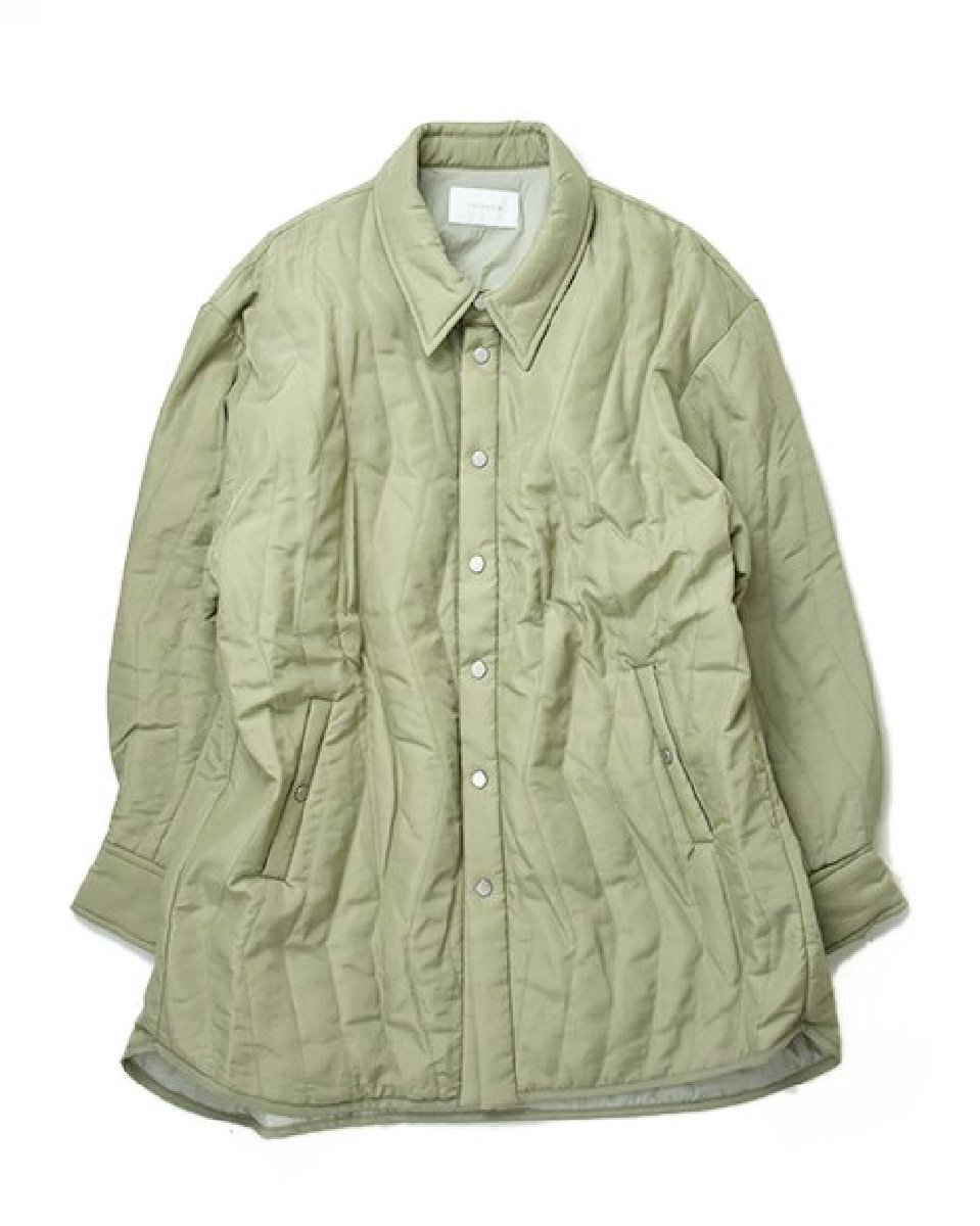 【CHIGNON】Quilting Jacket (Olive)