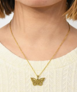 【RAYDY SELECT】Butterfly Necklace (2Color)<img class='new_mark_img2' src='https://img.shop-pro.jp/img/new/icons14.gif' style='border:none;display:inline;margin:0px;padding:0px;width:auto;' />
