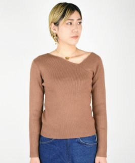 【RAYDY】Ribknit Tops (3Color)