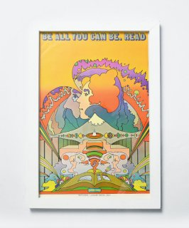 【Vintage Art Poster】Peter Max 『READ』#25<img class='new_mark_img2' src='https://img.shop-pro.jp/img/new/icons14.gif' style='border:none;display:inline;margin:0px;padding:0px;width:auto;' />