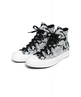 【Converse】Black Snake Grain Leather CT70 Hi Cut.