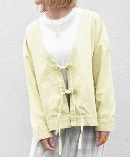 【BAD】V Neck RibbonI Cardigan (2Color)