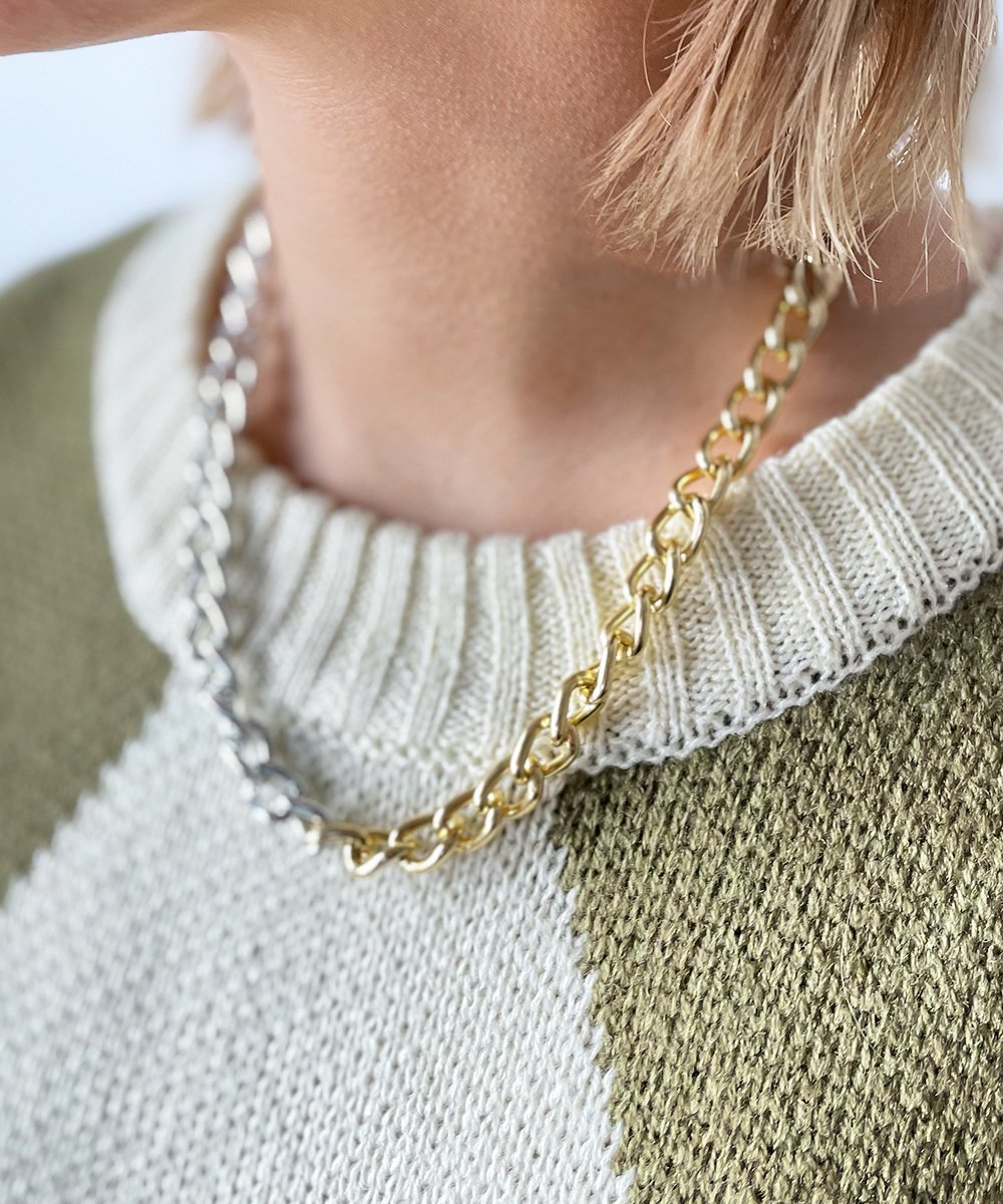 Bycolor Chain Necklace