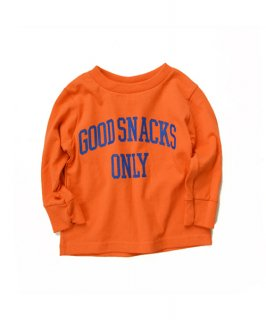 【ORIGINAL KIDS】GoodSnacks Only L/S Tee (2T-4T)