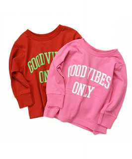 【ORIGINAL KIDS】Goodvibes Only L/S Tee (2T-4T)