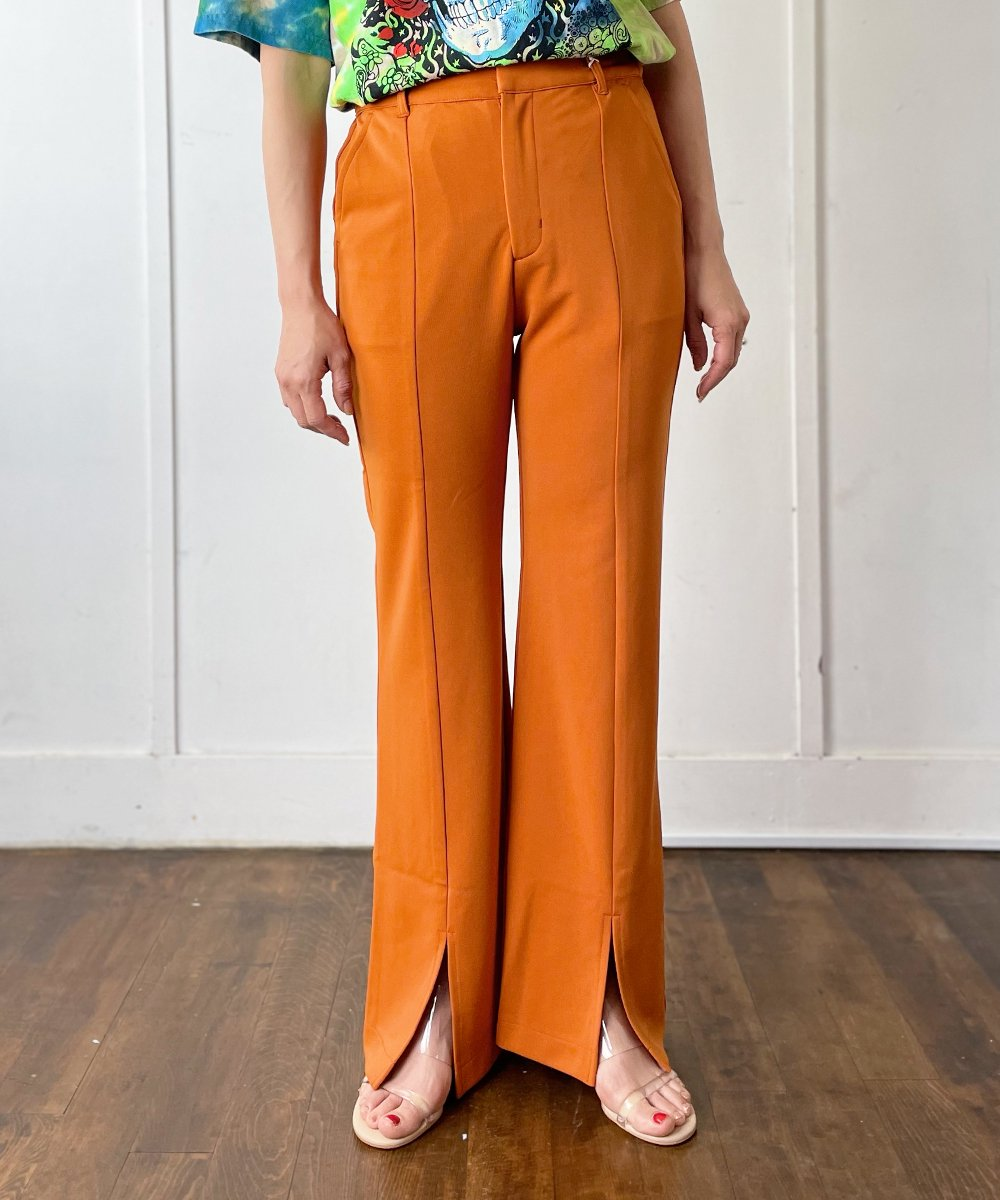 【WoM】Slim Flare Pants (4Color)<img class='new_mark_img2' src='https://img.shop-pro.jp/img/new/icons14.gif' style='border:none;display:inline;margin:0px;padding:0px;width:auto;' />