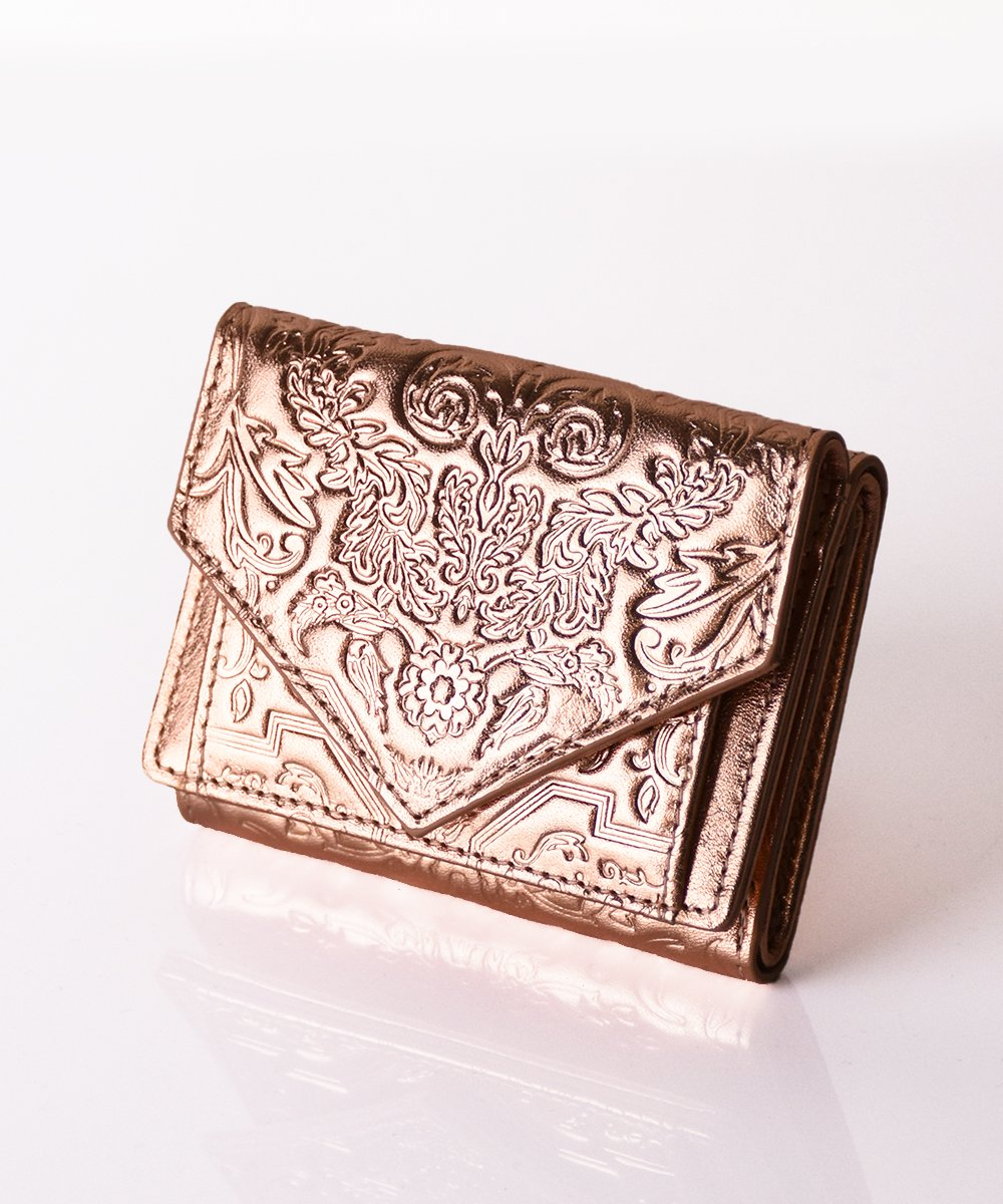 【mixxdavid】Jacquard Mini Wallet (FoilPink)<img class='new_mark_img2' src='https://img.shop-pro.jp/img/new/icons56.gif' style='border:none;display:inline;margin:0px;padding:0px;width:auto;' />