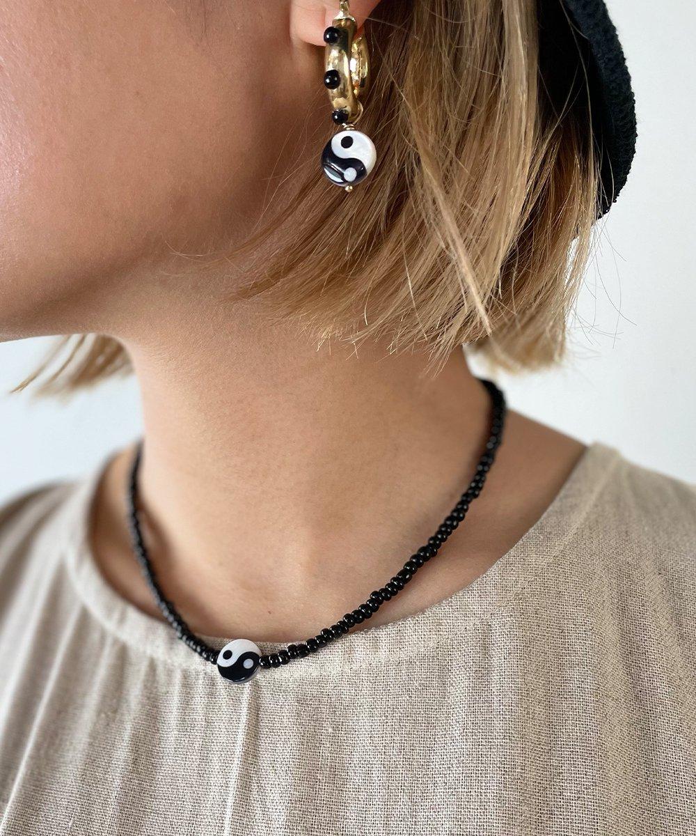 Yin-Yang Beads Necklace
