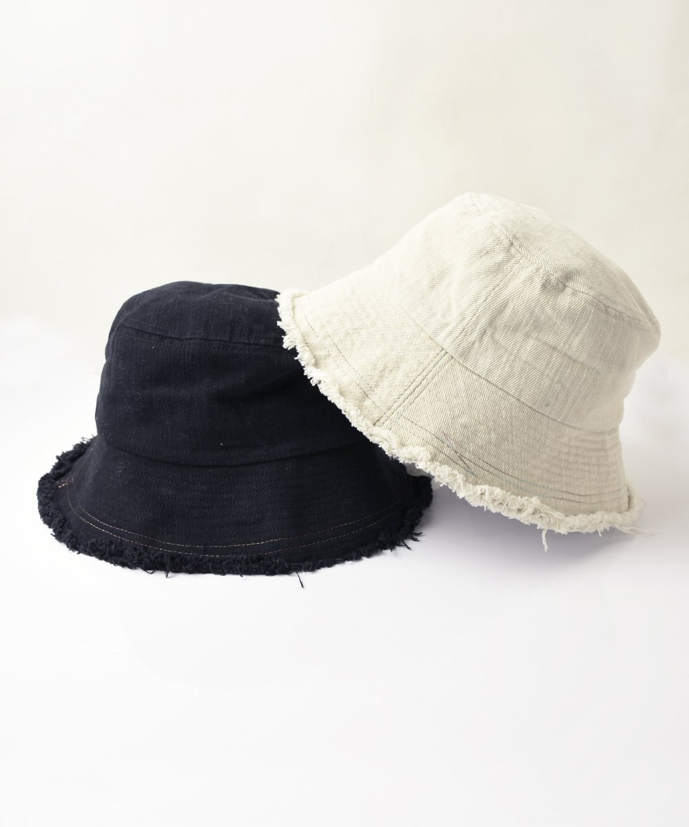 【RAYDY】Cut Off Hat (Black/Natural)<img class='new_mark_img2' src='https://img.shop-pro.jp/img/new/icons23.gif' style='border:none;display:inline;margin:0px;padding:0px;width:auto;' />
