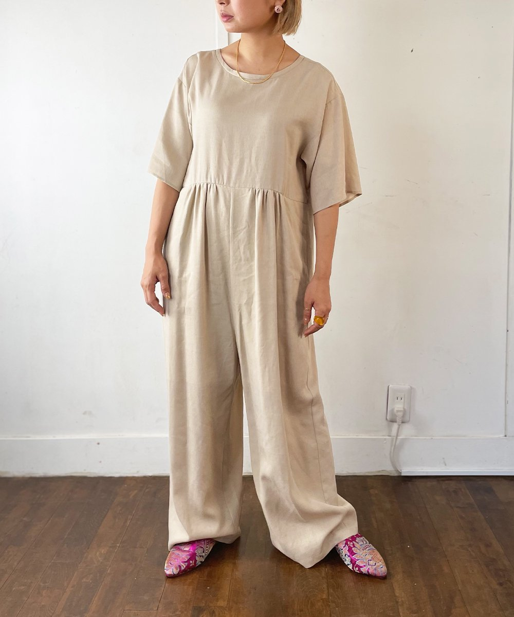 【CHIGNON】Wide AllInOne (Light Beige)<img class='new_mark_img2' src='https://img.shop-pro.jp/img/new/icons23.gif' style='border:none;display:inline;margin:0px;padding:0px;width:auto;' />