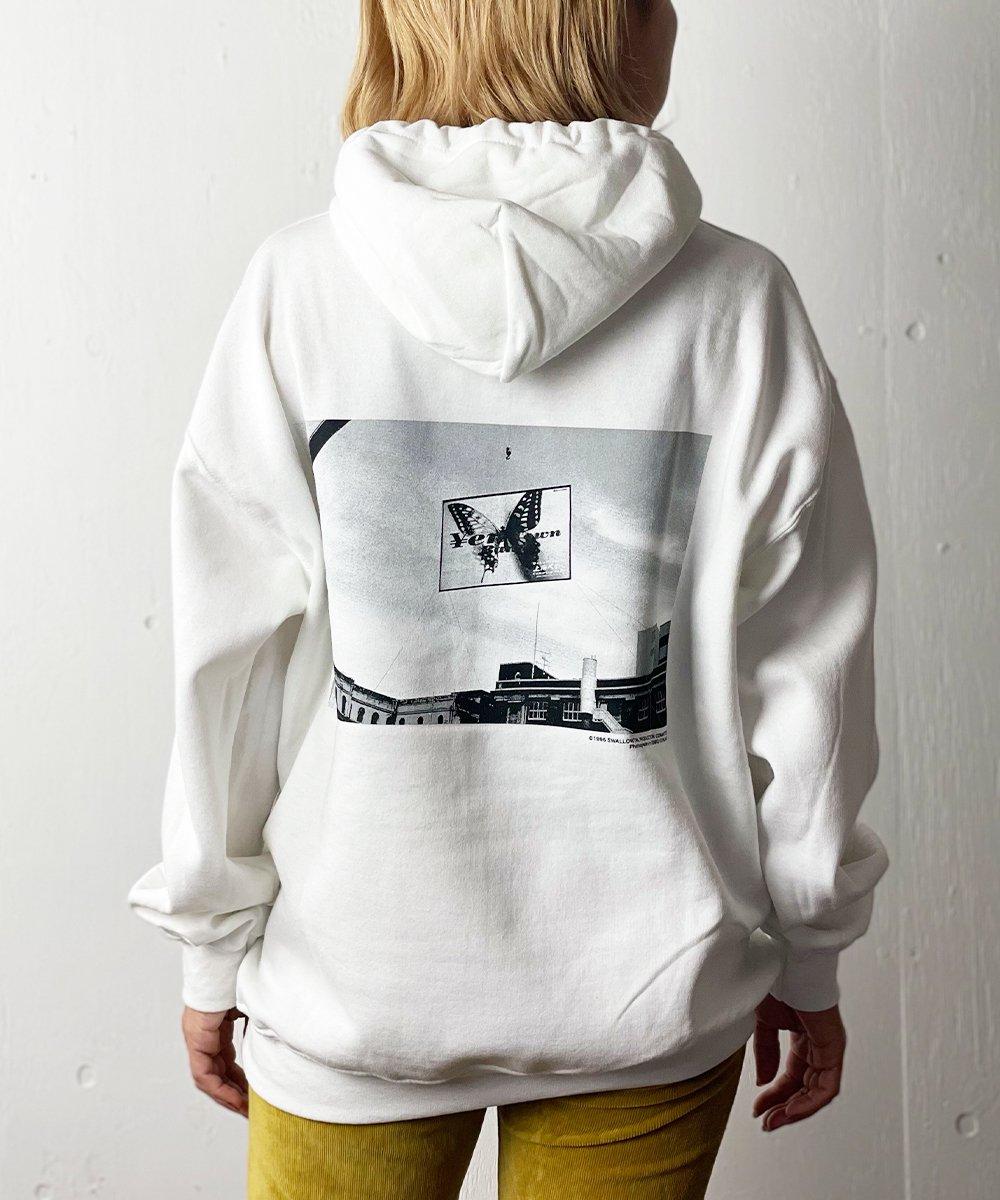 【LABRAT×スワロウテイル】Yen town band Hoodie (White)
