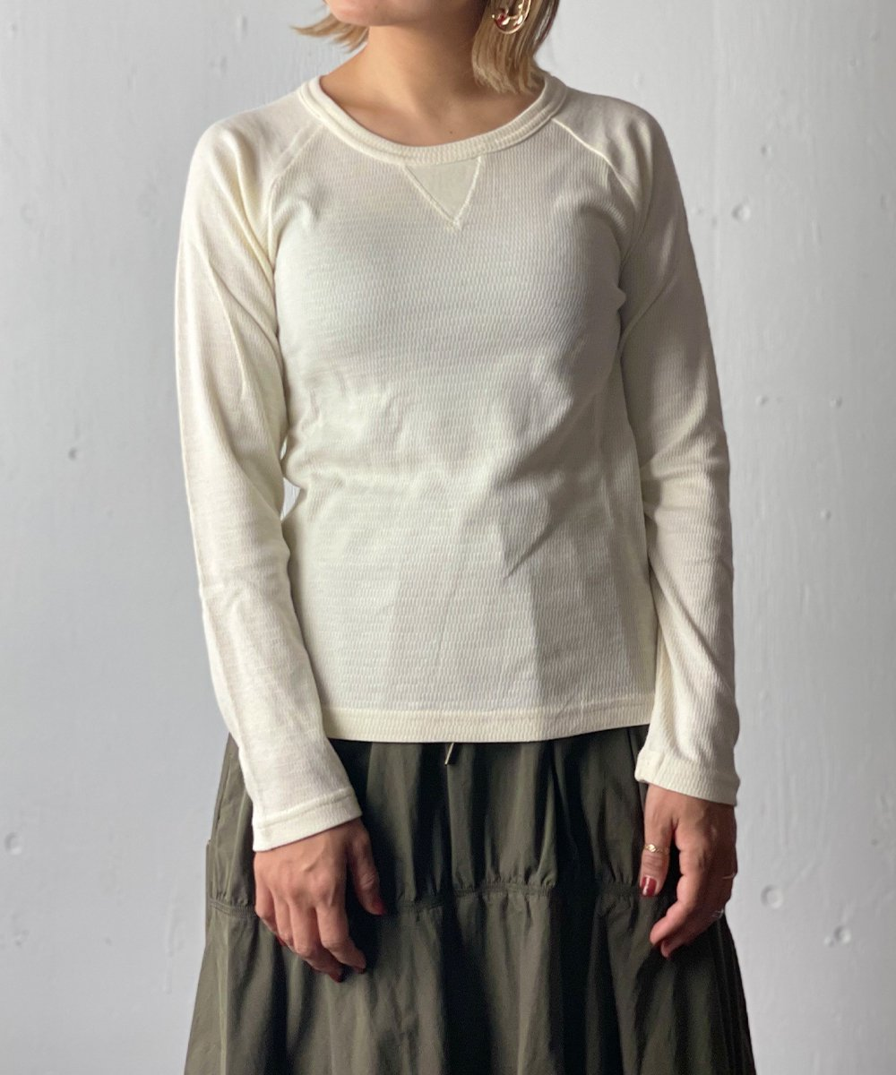 【RAYDY】Thermal Cut and Sew (Offwhite)