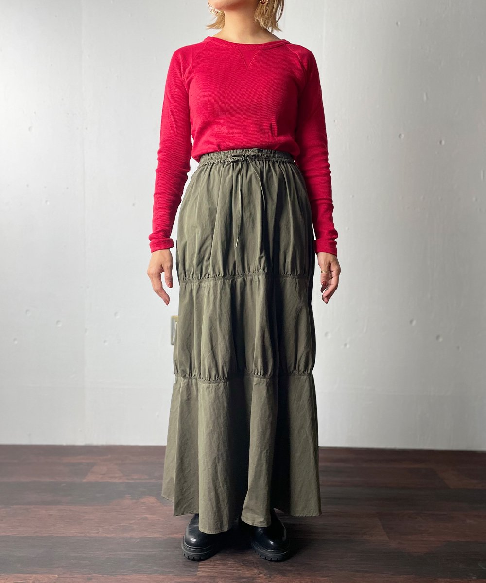 【RAYDY】Thermal Cut and Sew (Red)