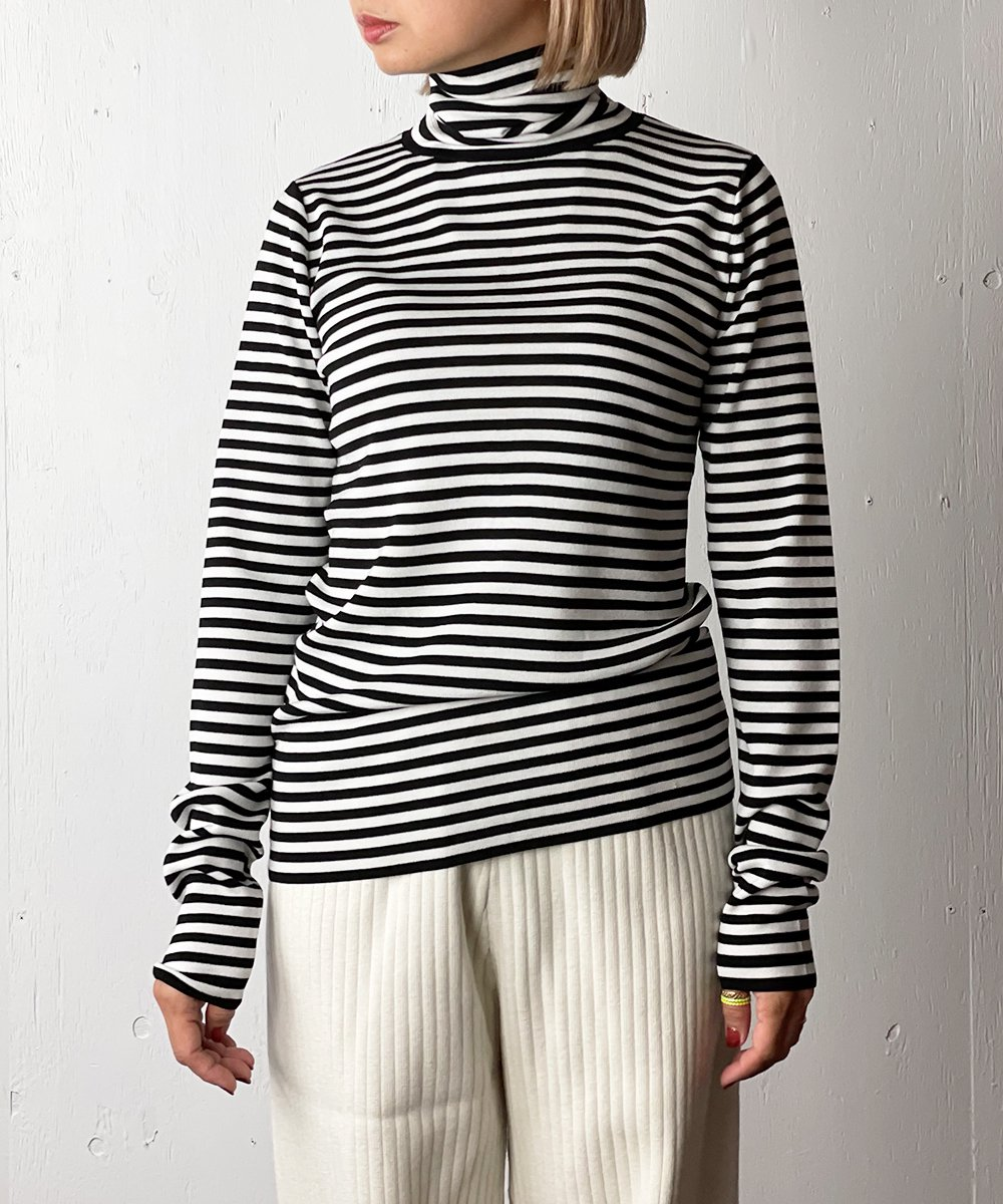 【WoM】FULL NEEDLE LAYER KNIT (BLACK BORDER)<img class='new_mark_img2' src='https://img.shop-pro.jp/img/new/icons14.gif' style='border:none;display:inline;margin:0px;padding:0px;width:auto;' />