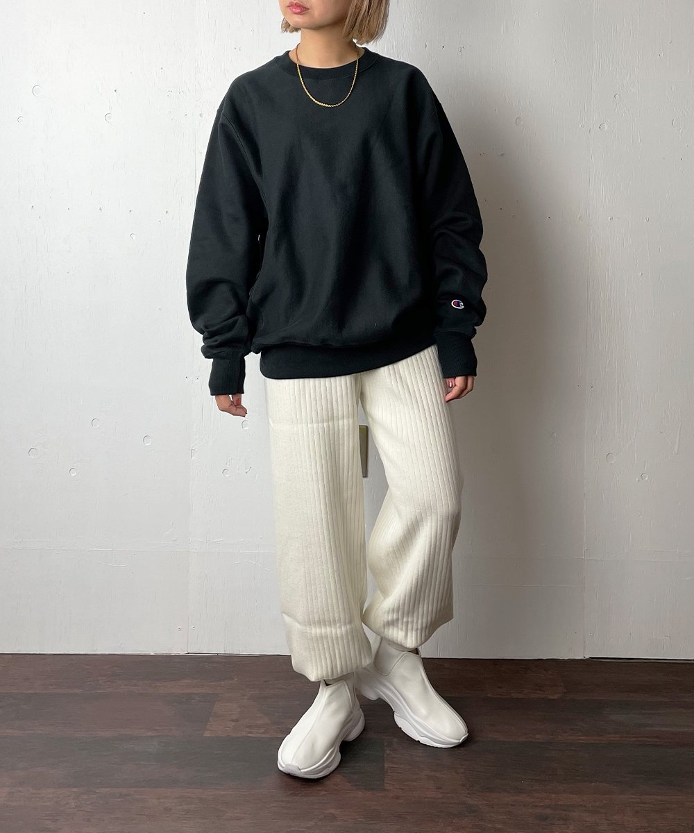 【WoM】RIB KNIT PANTS(OFF WHITE)<img class='new_mark_img2' src='https://img.shop-pro.jp/img/new/icons14.gif' style='border:none;display:inline;margin:0px;padding:0px;width:auto;' />