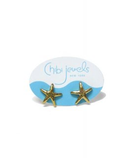 【Chibi jewels】  Starfish Stud Earrings