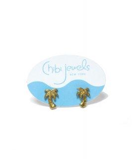 【Chibi jewels】Palm Tree Stud Pierce <img class='new_mark_img2' src='https://img.shop-pro.jp/img/new/icons20.gif' style='border:none;display:inline;margin:0px;padding:0px;width:auto;' />
