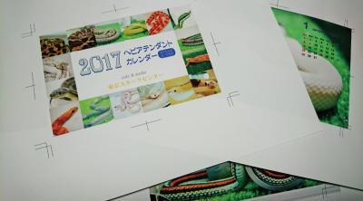 【送料無料】ヘビアテンダントカレンダー2017