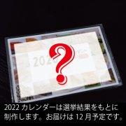 【送料無料】ヘビアテンダントカレンダー2022と抜け殻のお守りカードサイズセット+カレンダー総選挙の投票権付き