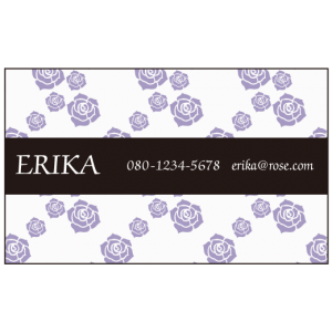 バラ 紫と黒