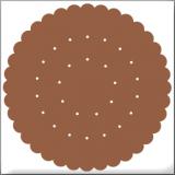 クッキー ブラウン