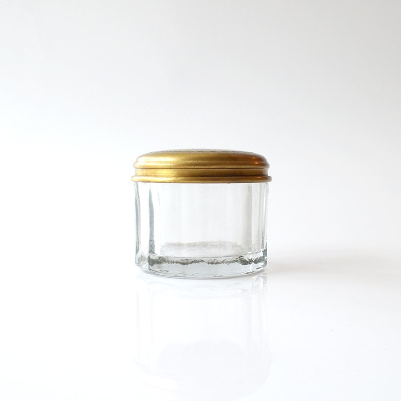 TOOLS BRASS&GLASS JAR S
