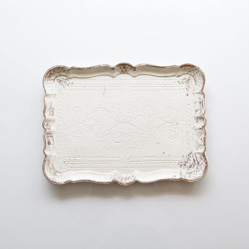 DECOR BAROQUE TRAY M
