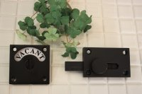 黒焼付加工真鍮表示錠