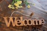 ハンギングプレート[Welcome]