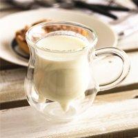 耐熱二層ミルクカップ