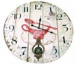 PENDULUM WALL CLOCK 58cm