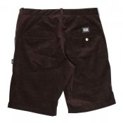 EM STRAIGHT CORDUROY SHORTS BROWN
