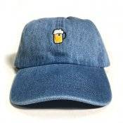 BEER 6 PANEL / Blue Denim