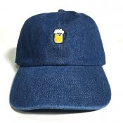 BEER 6 PANEL / Dark Blue Denim