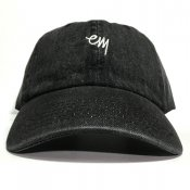 KOMOJI 6 PANEL / Black Denim