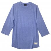 Tri-Blend Raglan / Vintage Heather Blue