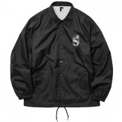 Nylon Coach Jacket / Black