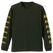 Caterpillar Long sleeve / Forest Green