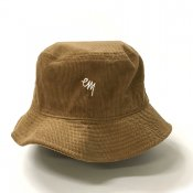 KOMOJI CORDUROY BUCKET HAT / Tan