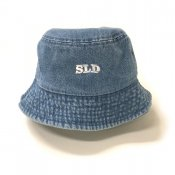 Scratch Bucket Hat / Blue Denim