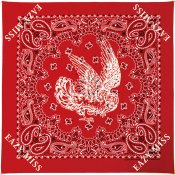 Paisley Bandana / Red