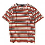 Stripe Tee / Red